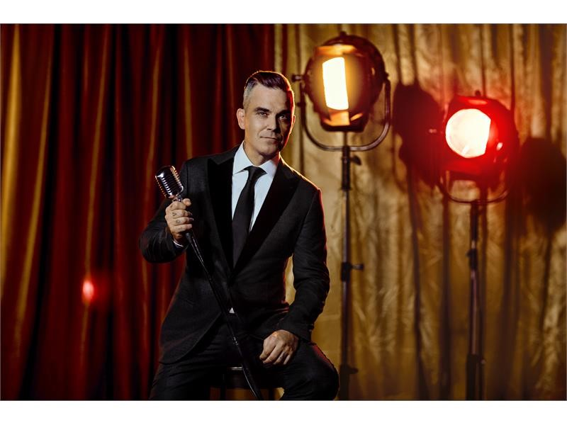 "Music Icon Robbie Williams Makes Wynn Las Vegas Debut with ""Robbie Williams Live In Las Vegas"" in Ma"