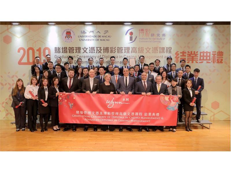 Wynn Team Members Achieve Management Diplomas  at the University of Macau
