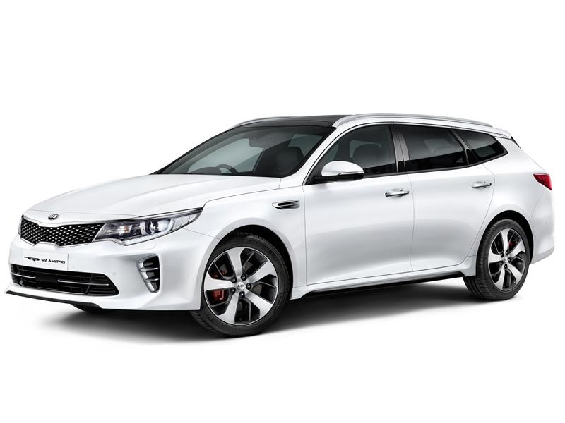 Style and Space for the All-New Kia Optima Sportswagon, making its Global Debut at Geneva Motor Show