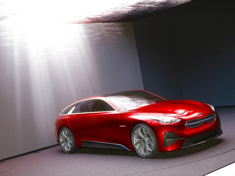 Kia unveils Proceed Concept at Frankfurt Motor Show alongside new Stonic, Picanto X-Line and Sorento