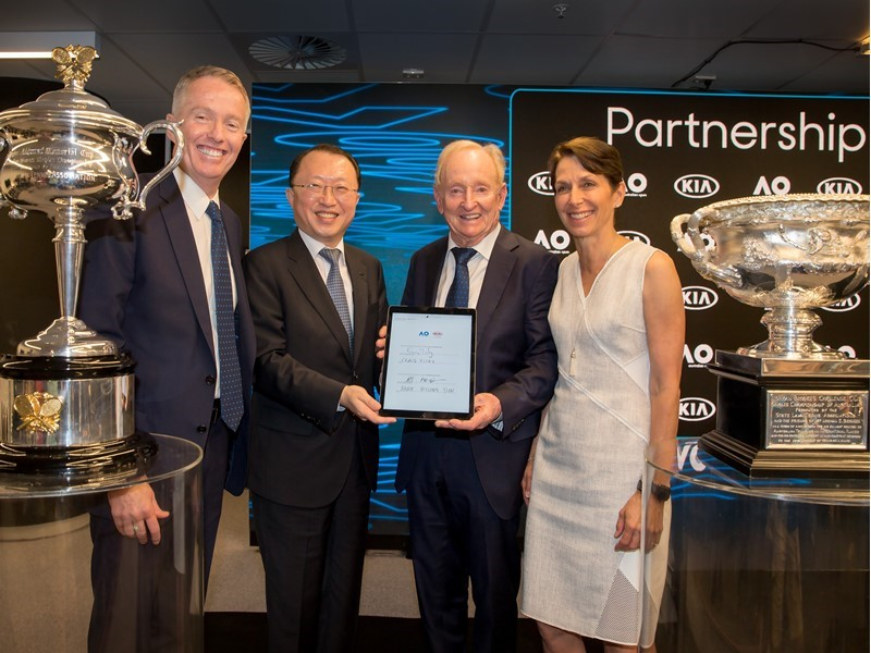 Kia extends Australian Open partnership to 2023