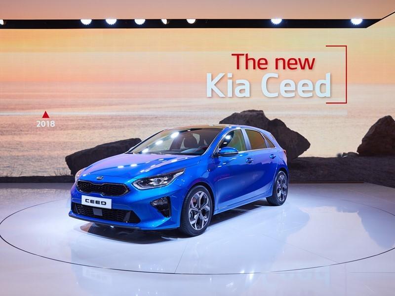 Geneva debut for new Kia Ceed, Optima and Rio GT Line