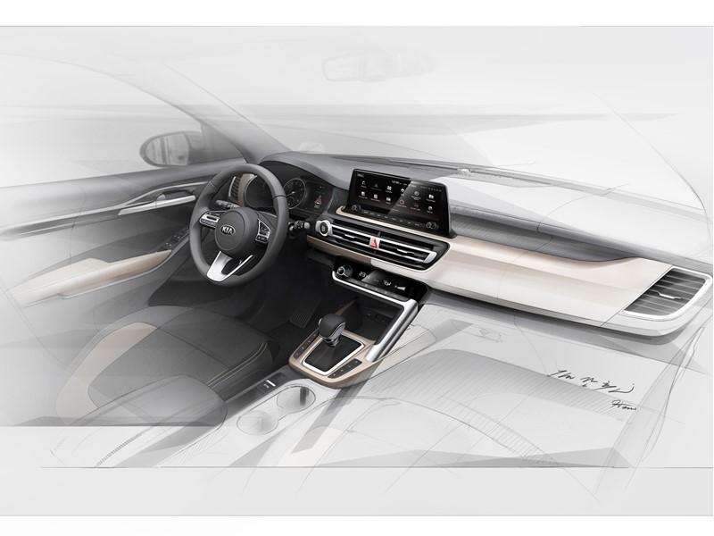 Kia hints at interior design of all-new small SUV