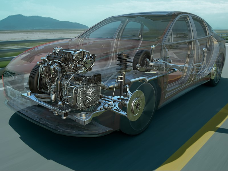 Hyundai Motor Group Unveils World's First CVVD Engine Technology With Improved Performance and Less