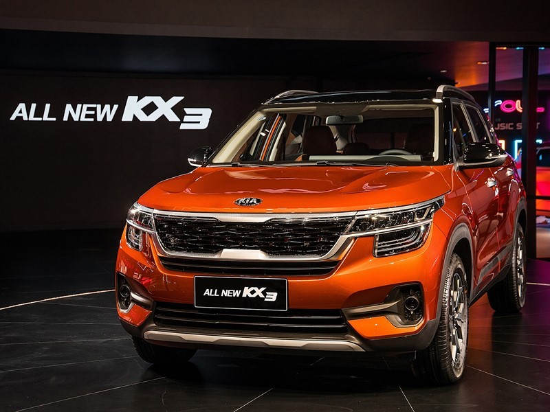 Kia Motors reveals all-new KX3 at the Guangzhou Motor Show