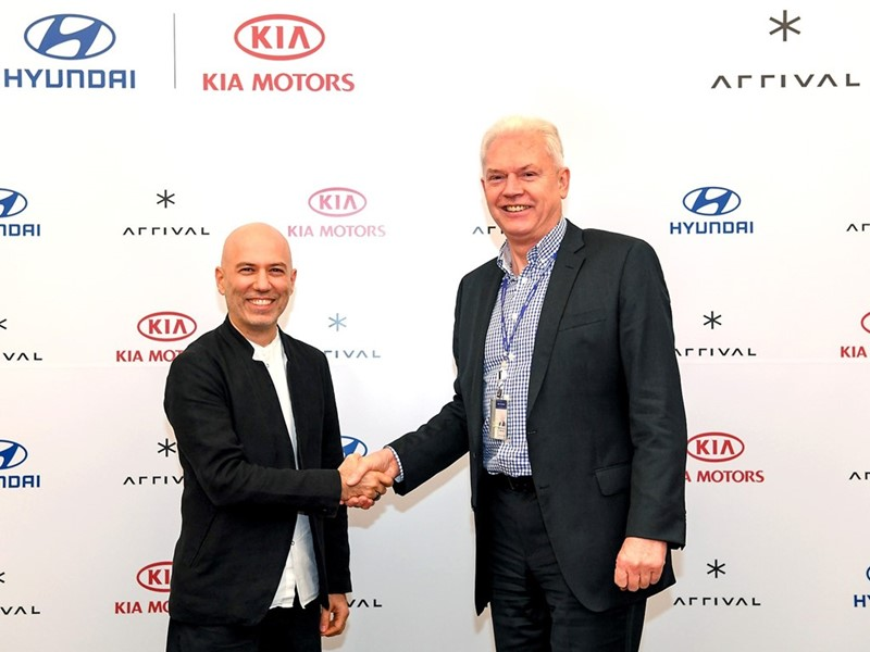Hyundai and Kia Make Strategic Investment in Arrival  to Co-develop Electric Commercial Vehicles