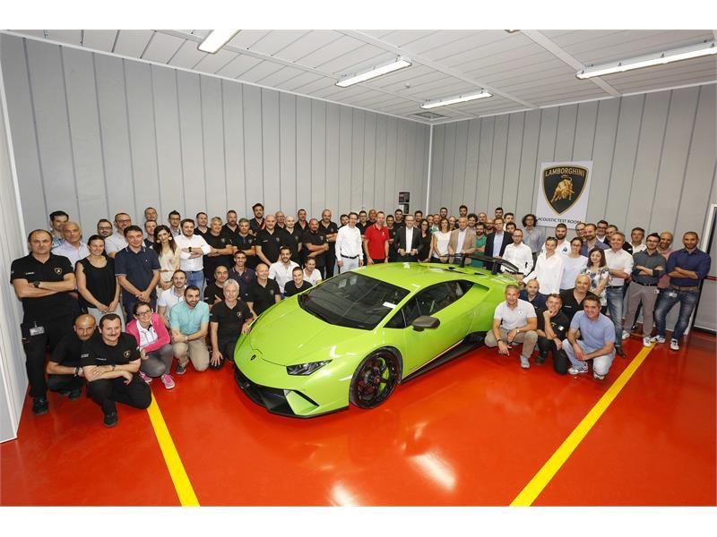 Automobili Lamborghini erweitert seinen Bereich für Prototypen und Vorserienfahrzeuge und eröffnet e