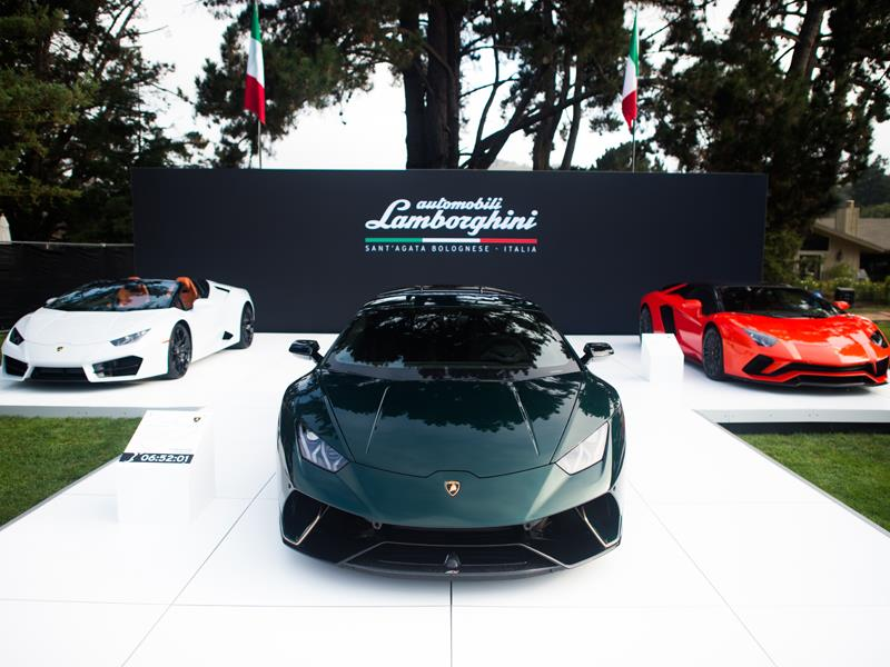 Lamborghini Presents First Worldwide Showcase of Commemorative Vehicles during Monterey Car Week 201