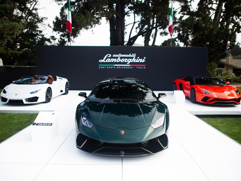 """Tre modelli Lamborghini """"Ad Personam for Pebble Beach"""" in anteprima mondiale alla Monterey Car Week"""