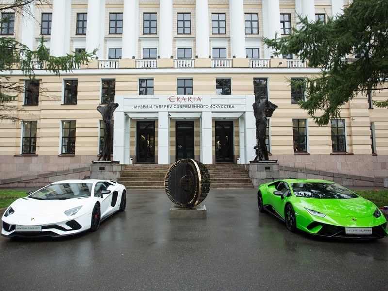 """Lamborghini. Design Legend"", the exhibition celebrating Lamborghini Design, Opens at the Erarta Mus"