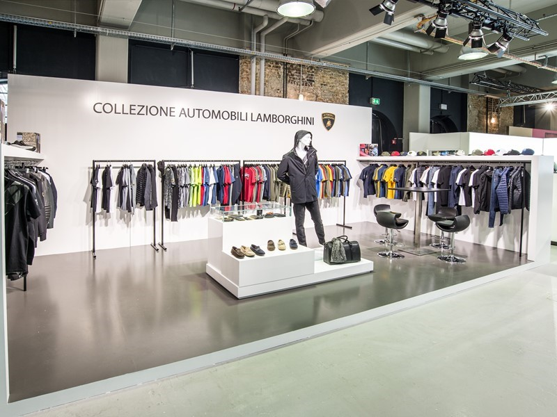 Collezione Automobili Lamborghini has attended the Premium International Fashion Trade Show in Berli