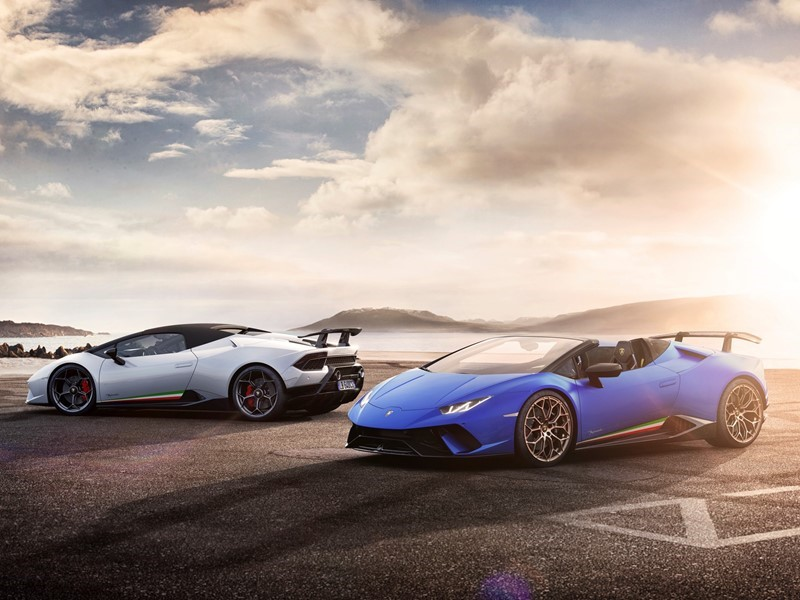 Lamborghini Huracán Performante Spyder:  the pinnacle of performance and heightened open-air emotion
