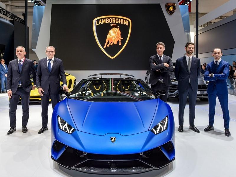 Automobili Lamborghini at 2018 Beijing Auto Show