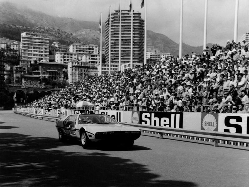 Lamborghini Polo Storico goes back in history,  taking the Marzal to the GP de Monaco Historique onc