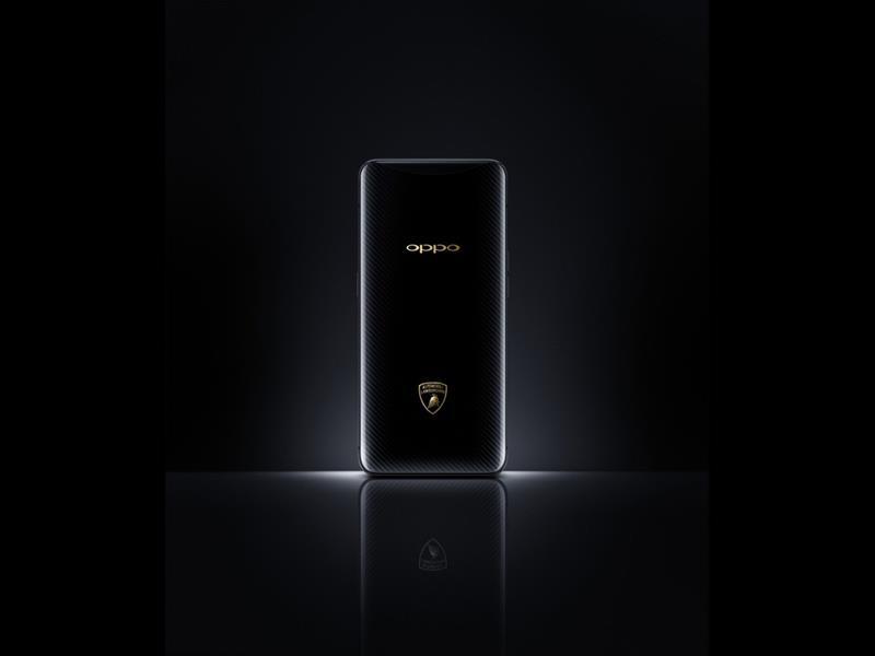 Automobili Lamborghini and OPPO announce a global strategic partnership. OPPO Find X Automobili Lamb