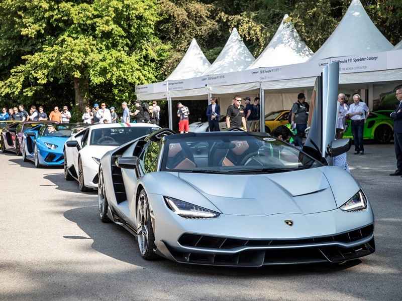 2018 Goodwood Festival of Speed: Lamborghini lines up new Super SUV Urus and Super Sports Cars, incl