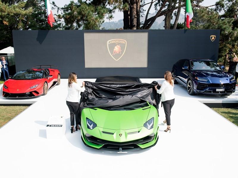Lamborghini protagonista alla Monterey Car Week 2018