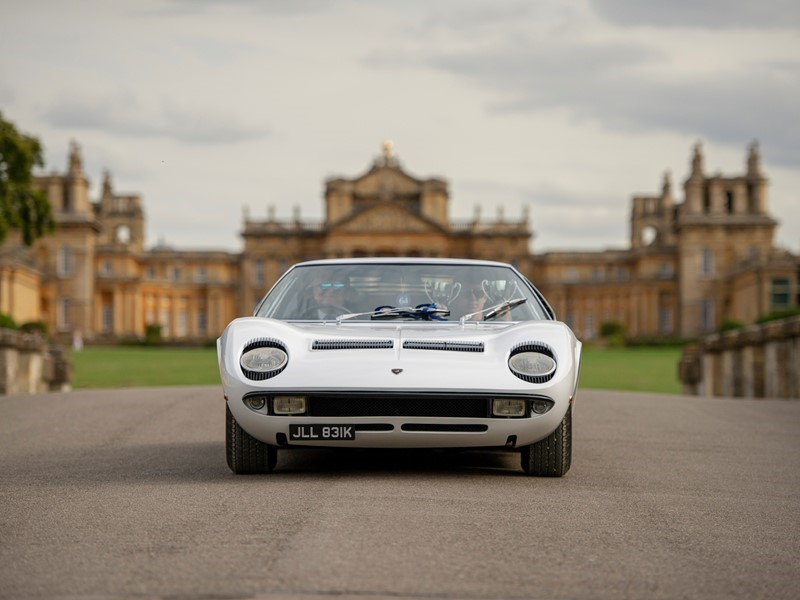 Lamborghini success with two Miura S at Salon Privé and Hampton Court Palace Concours d'Élégance in