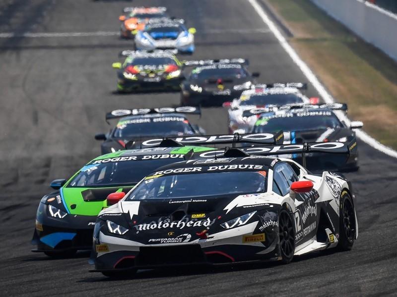 Lamborghini Super Trofeo Europe back on track at the Nürburgring