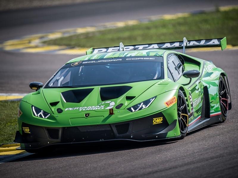 Lamborghini Huracán GT3 EVO: evoluzione in pista