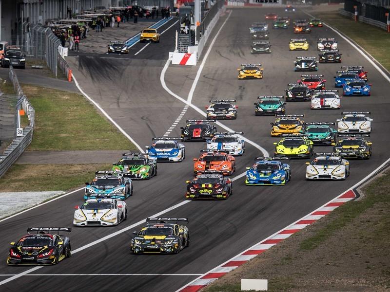 Lamborghini Super Trofeo Europe: Postiglione and Basz win Race 1 at Nürburgring