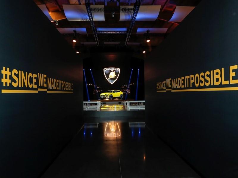Automobili Lamborghini e La Buccia si aggiudicano il primo premio per l'evento di lancio dinamico de