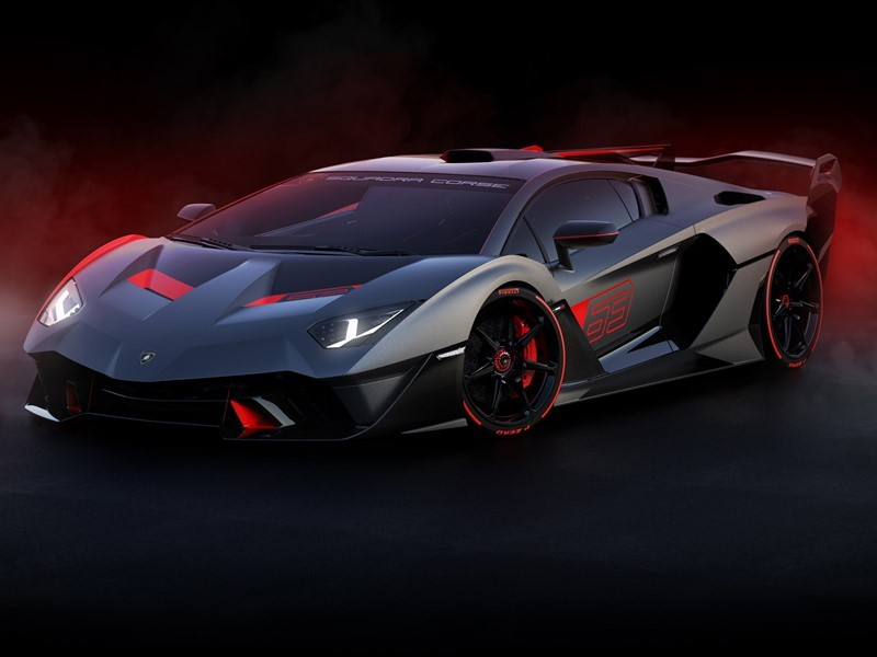 Lamborghini SC18: the first 'one-off' created by Squadra Corse