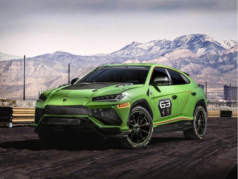 Lamborghini Urus ST-X Concept: das erste Super SUV für den Rennsport