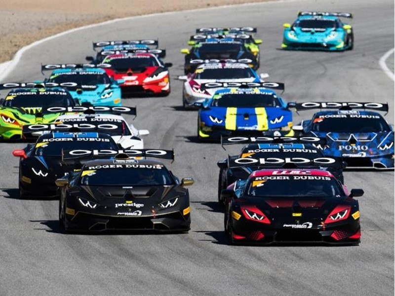Automobili Lamborghini Announces 2019 Lamborghini Super Trofeo North America Schedule