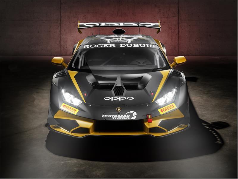 Lamborghini Huracán Super Trofeo Evo Collector 2019: black gold