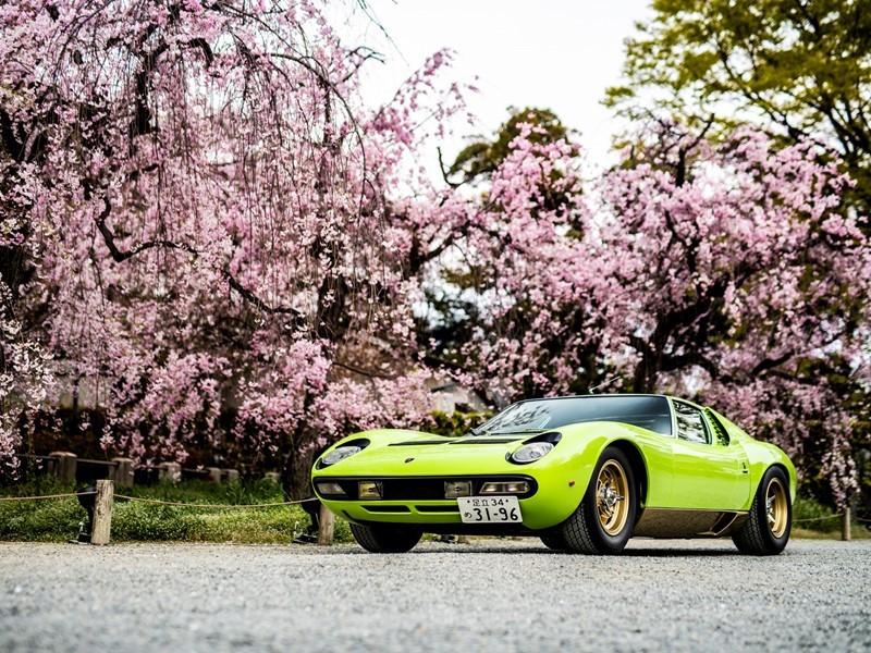 """Lamborghini Polo Storico auf dem """"Concorso d'Eleganza Kyoto 2019"""""""