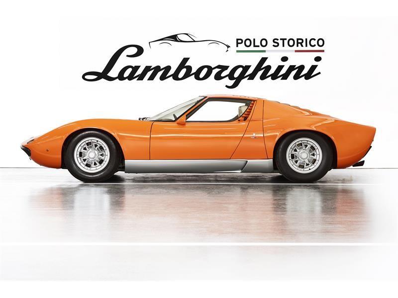 """Lamborghini Polo Storico scopre e certifica la Miura P400  usata per il film """"The Italian Job"""" del 1"""
