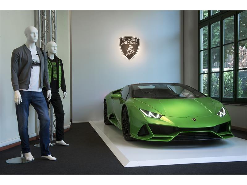 Automobili Lamborghini Menswear PE 2020 a Pitti Uomo