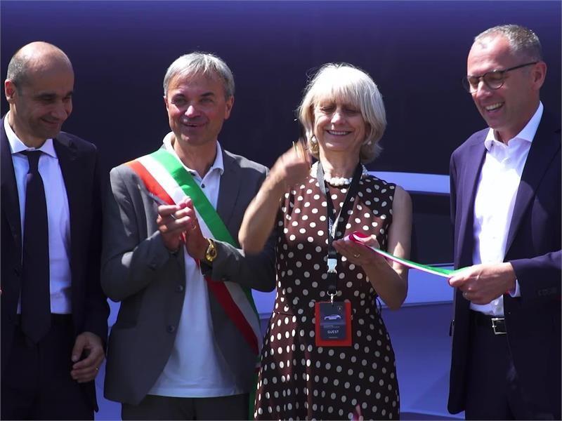 Automobili Lamborghini inaugurates its new paint shop in Sant'Agata Bolognese