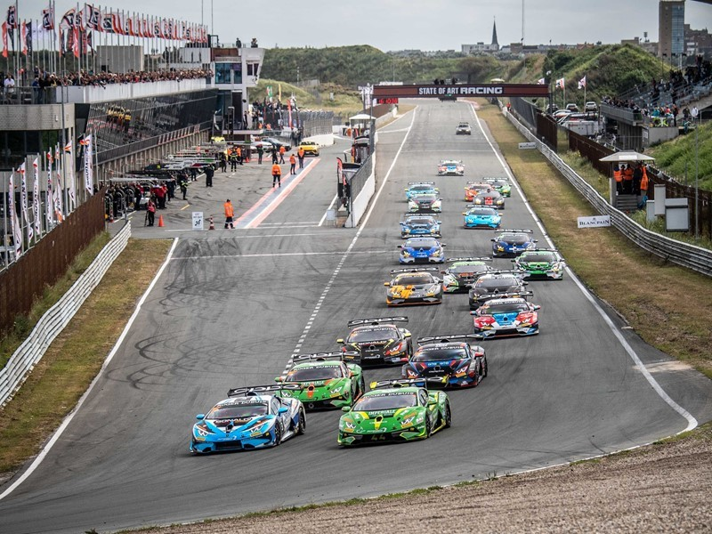 Flying Dutchman Kroes victorious on home soil with Afanasiev in first Lamborghini Super Trofeo Europe race at Zandvoort