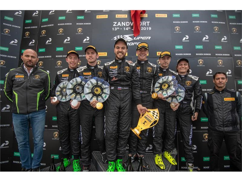 Kroes and Afanasiev claim Dutch double in second  Super Trofeo Europe race at Zandvoort