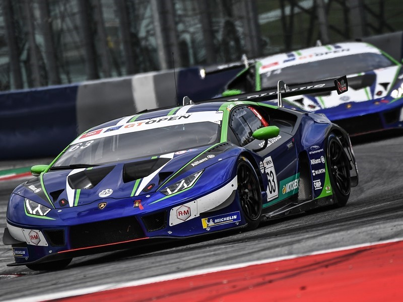 Lamborghini taste GT Open victory and score three Blancpain podiums  in successful weekend