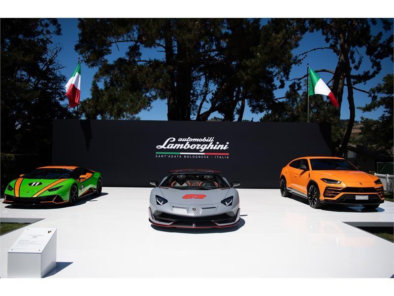 Lamborghini Revels during 2019 Monterey Car Week