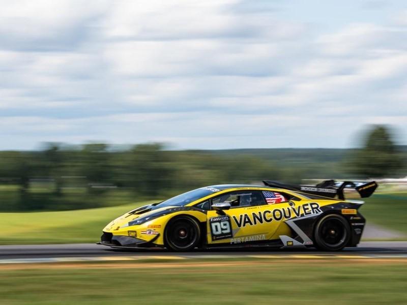 Ockey and Eidson Look to Wrap Up Lamborghini ProAm Class Title at WeatherTech Raceway Laguna Seca