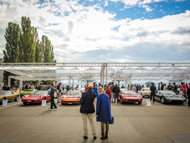 "Concours d'Elegance ""Lamborghini & Design"":  zwischen Venedig und Triest feiert Lamborghini seine  h"