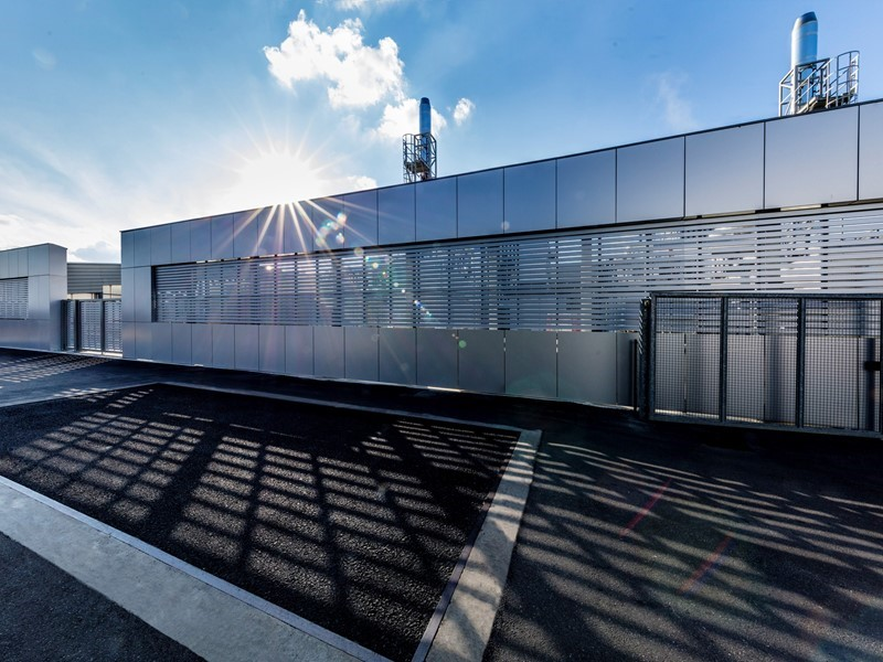 Automobili Lamborghini first in Europe  for its trigeneration and district heating systems