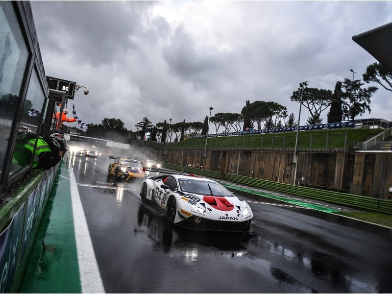 Lamborghini one-two secures gold and silver medals at inaugural FIA Motorsport Games in Vallelunga