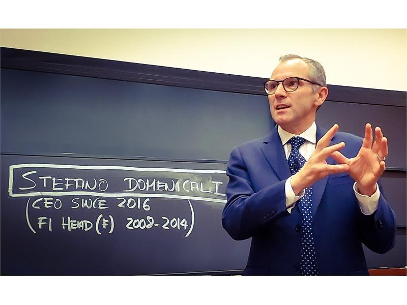 Il CEO di Automobili Lamborghini, Stefano Domenicali, scelto dall'Harvard Business School per indiri