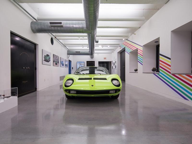 "Lamborghini brings Italian virtuosity to Art Basel Miami Beach with  ""A Dreamscape of Italian Design"