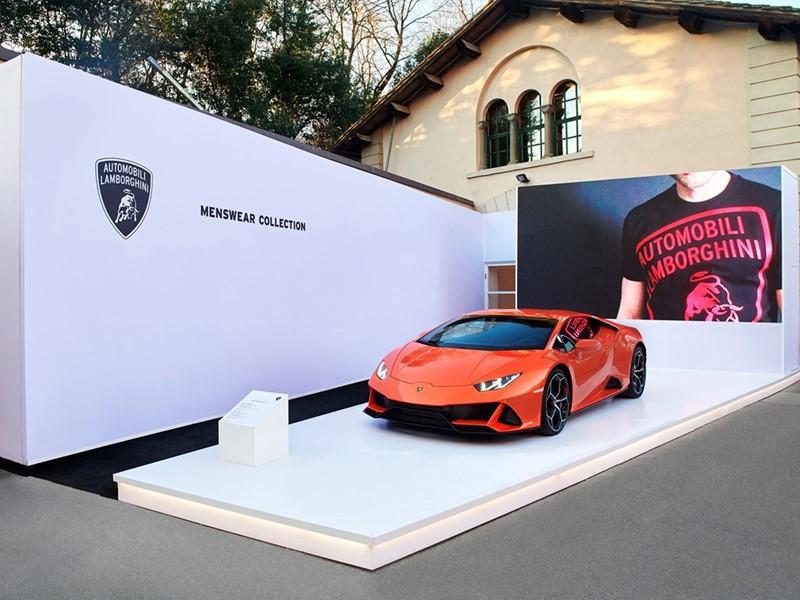 Automobili Lamborghini Menswear Collection Autunno Inverno 2020 – 2021 a PITTI Uomo 97