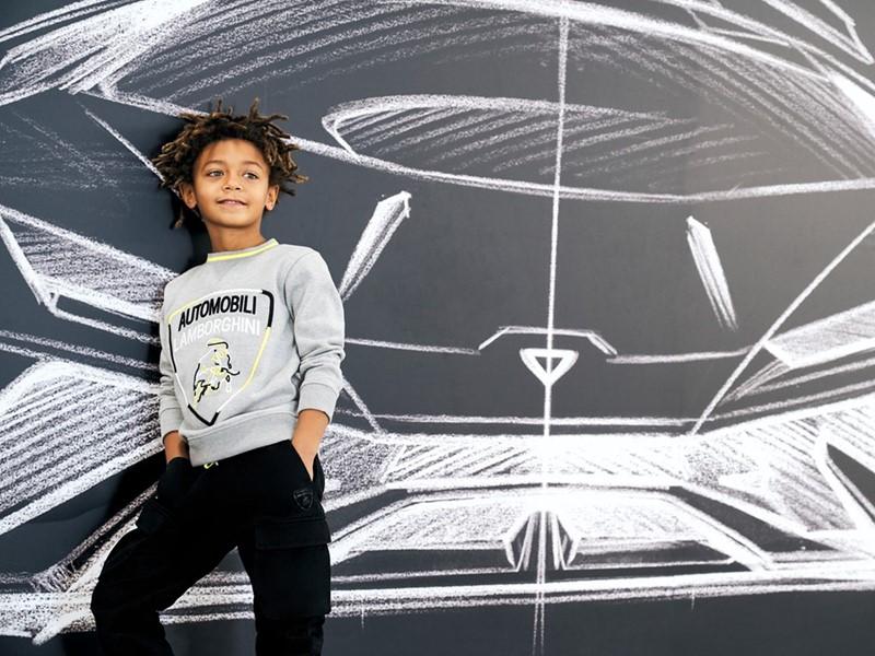 Al via una nuova collaborazione tra Automobili Lamborghini e KABOOKI kidswear