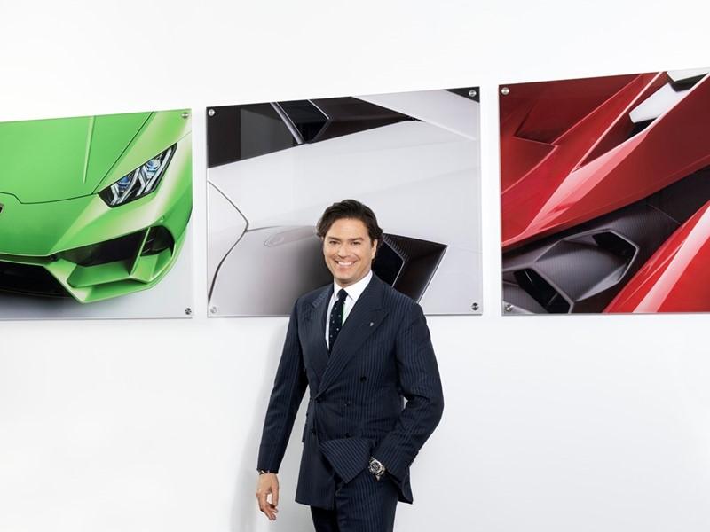 Veränderungen im Management Board von Automobili Lamborghini