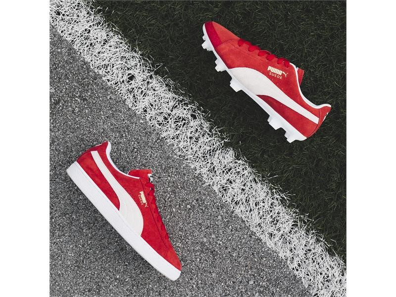 PUMA FOOTBALL CELEBRATE THE 50th ANNIVERSARY OF THE SUEDE WITH THE RELEASE OF THE LIMITED EDITION FU