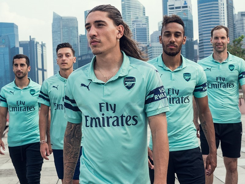 INTRODUCING THE NEW ARSENAL FC 2018/19 THIRD KIT
